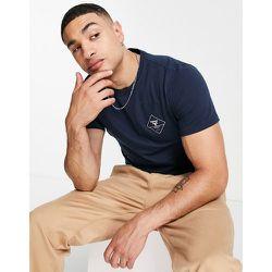 T-shirt avec petit logo losange - Bleu - Barbour Beacon - Modalova