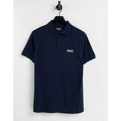 Polo à logo essential - Bleu - Barbour International - Modalova