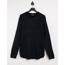 Pull en tricot gaufré - Bershka - Modalova