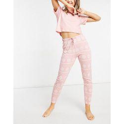 Ensemble de pyjama avec t-shirt et pantalon - Brave Soul - Modalova