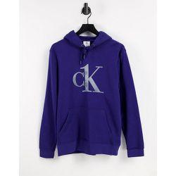 CK One - Hoodie confort avec logo sur le devant - Calvin Klein - Modalova