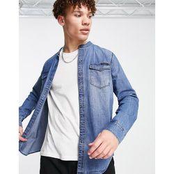 Chemise à col grand-père - Calvin Klein Jeans - Modalova