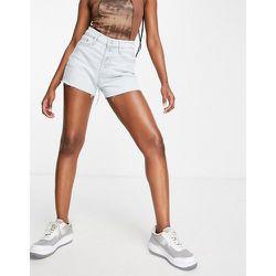 Short taille haute boutonné délavé - Calvin Klein Jeans - Modalova