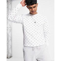 Sweat-shirt ras de cou à monogramme - Calvin Klein Jeans - Modalova