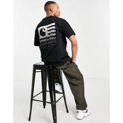 State - T-shirt avec imprimé au dos - délavé - Carhartt WIP - Modalova