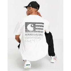 State - T-shirt avec imprimé effet estompé au dos - Carhartt WIP - Modalova