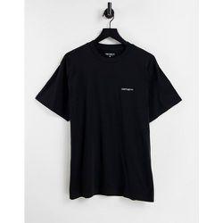 T-shirt à logo brodé effet ombré - /blanc - Carhartt WIP - Modalova