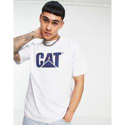 Caterpillar - T-shirt de travail à logo effet roue - Cat Footwear - Modalova
