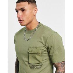 Caterpillar - T-shirt de travail avec poche - Cat Footwear - Modalova