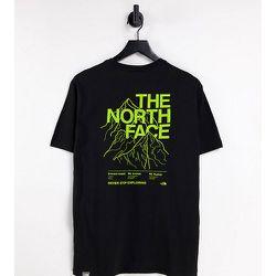 Exclusivité ASOS - - T-shirt à imprimé contour de montage - The North Face - Modalova