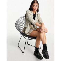 Blazer long décontracté d'ensemble à carreaux vintage - Fashion Union - Modalova