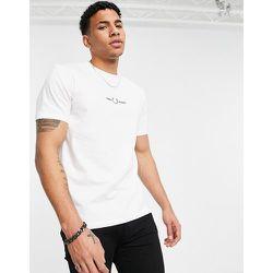 Fred Perry - T-shirt brodé - Blanc - Fred Perry - Modalova
