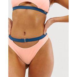 Bas de bikini échancré à ceinture - Free Society - Modalova