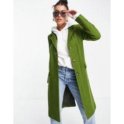 Manteau classique style universitaire en laine mélangée - Helene Berman - Modalova