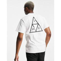 Essentials - T-shirt à imprimé trois triangles - HUF - Modalova