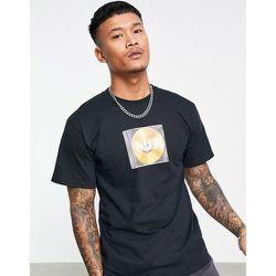Mix - T-shirt avec logo encadré - HUF - Modalova