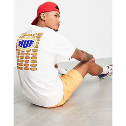 HUF - Workmans - T-shirt - Blanc - HUF - Modalova
