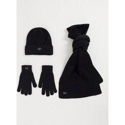 Ensemble avec bonnet, gants et écharpe - jack & jones - Modalova