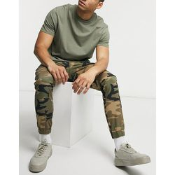 Intelligence - Pantalon cargo resserré - Camouflage - jack & jones - Modalova