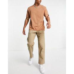 Intelligence - Pantalon chino large de travail - Beige - jack & jones - Modalova