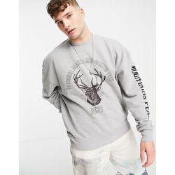 Sweat-shirt oversize à imprimé Alaska - Jaded London - Modalova