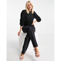 Anny - Sweat-shirt à col montant et manches 3/4 - JDY - Modalova