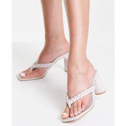 Sandales à brides tressées - Taupe - Lipsy - Modalova