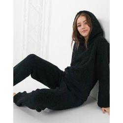 Hoodie confort en imitation peau de mouton - Loungeable - Modalova