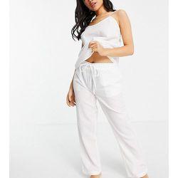 Petite - Mix and Match - Pantalon de pyjama en crépon - Loungeable - Modalova