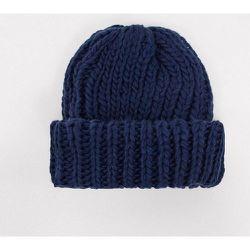London - Bonnet côtelé - Bleu - My Accessories - Modalova