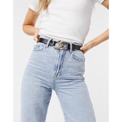 London - Ceinture hanches et taille pour jean avec maillons entrecroisés - Doré - My Accessories - Modalova
