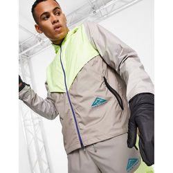 Trail - Veste coupe-vent à logo - Citron - Nike Running - Modalova