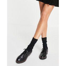 Chaussures à lacets en cuir avec semelle crantée - Office - Modalova