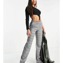 Pantalon large à carreaux - Only Tall - Modalova