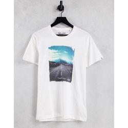 T-shirt à imprimé photo de route ouverte - Original Penguin - Modalova