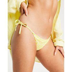 Bas de bikini à petites fleurs - Pieces - Modalova