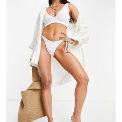 Haut de bikini triangle côtelé à bonnets montants - Public Desire - Modalova
