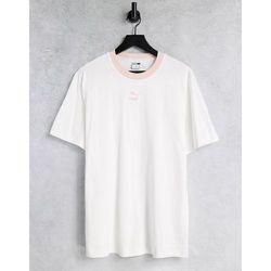 Classics - T-shirt à bords contrastants avec logo - Puma - Modalova