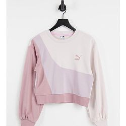 Convey - Exclusivité ASOS - Sweat-shirt oversize à effet color block - Puma - Modalova