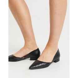 Harvey - Chaussures plates en deux parties - effet croco - Raid - Modalova