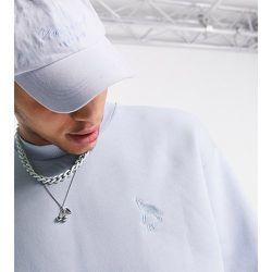 Inspired - Sweat-shirt en coton biologique avec motif loup - Reclaimed Vintage - Modalova
