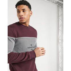 Maison - Sweat-shirt ajusté - Bordeaux - River Island - Modalova
