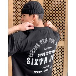 T-shirt avec imprimé Sooner Than You Think dans le dos - Sixth June - Modalova