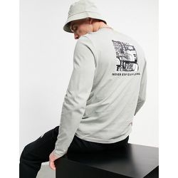Distorted - T-shirt manches longues à logo - The North Face - Modalova