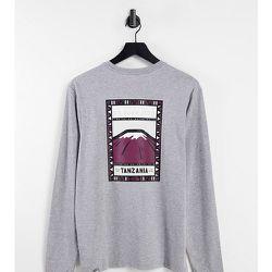 Faces - T-shirt manches longues - - Exclusivité ASOS - The North Face - Modalova