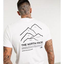 Peaks - T-shirt exclusivité ASOS - The North Face - Modalova