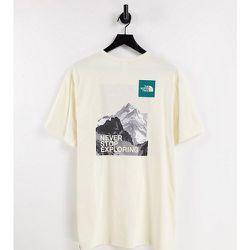Postcard - T-shirt - Crème - Exclusivité ASOS - The North Face - Modalova