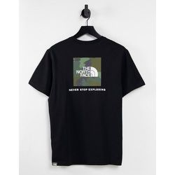 Red Box - T-shirt - /camouflage - The North Face - Modalova