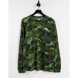 Simple Dome - T-shirt à manches longues - Camouflage - The North Face - Modalova