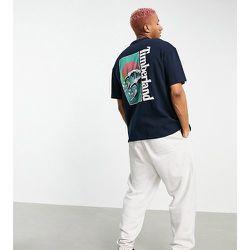 Beach Graphic - T-shirt à manches courtes - marine - Exclusivité ASOS - Timberland - Modalova